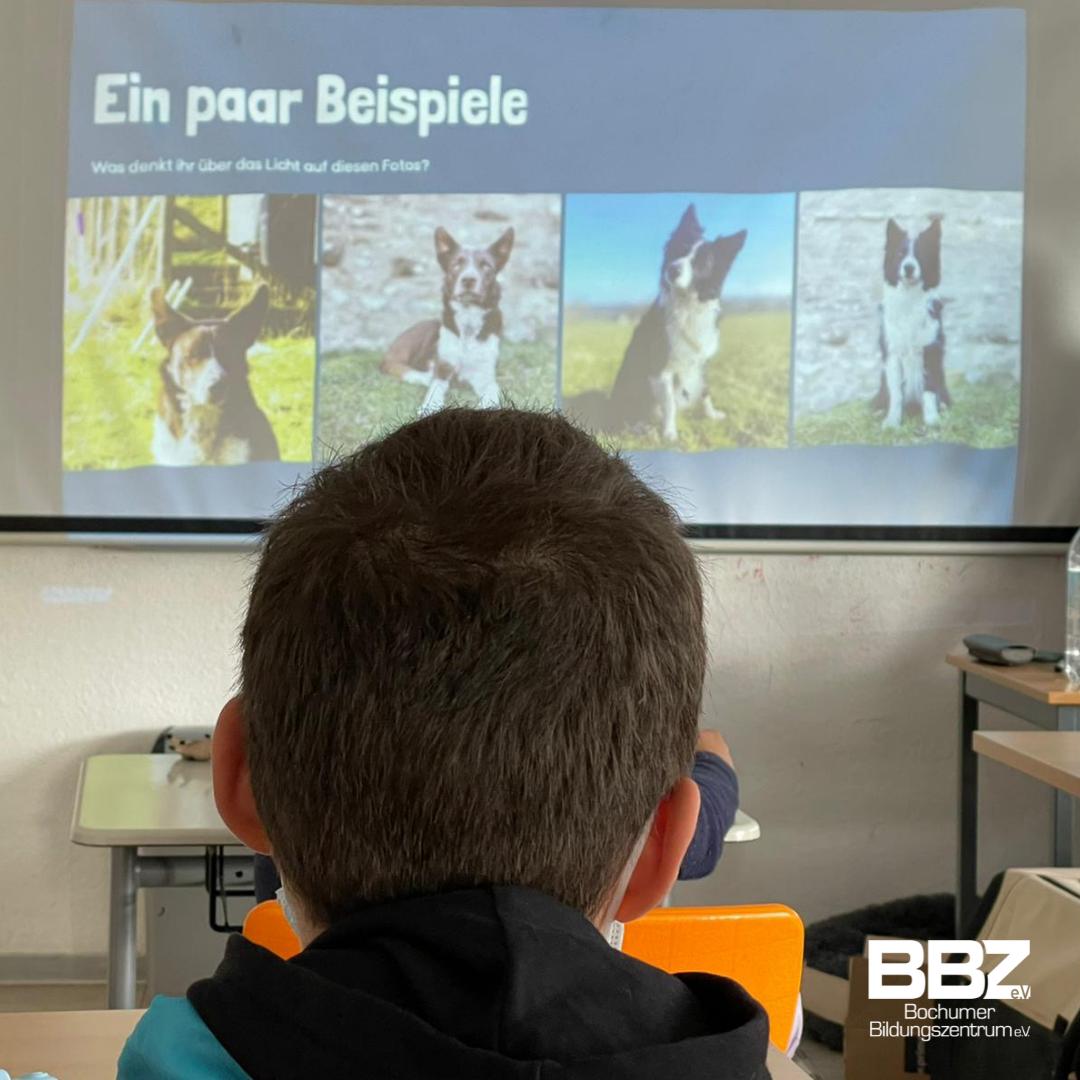 Fleißiges Lernen im Tierfotografie-Workshop!